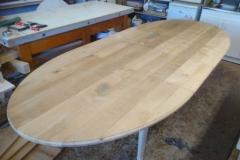 table ovale rallonge