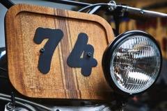 BMW R90 Scrambler Wood Style - Garage Sheriff 3
